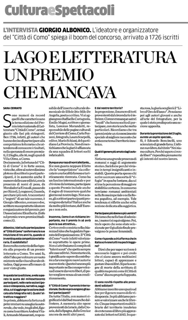 intervista--LA-PROVINCIA