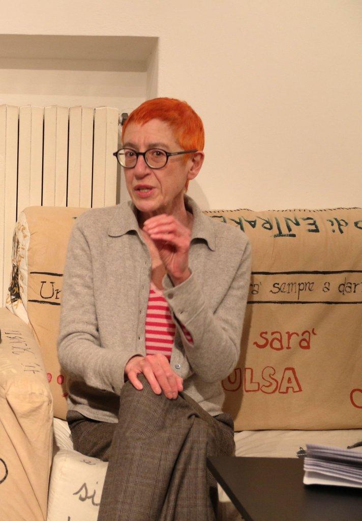"""The editor Clare Belliti, giurata del premio """"Città di Como"""" (foto Greta Albonico)"""
