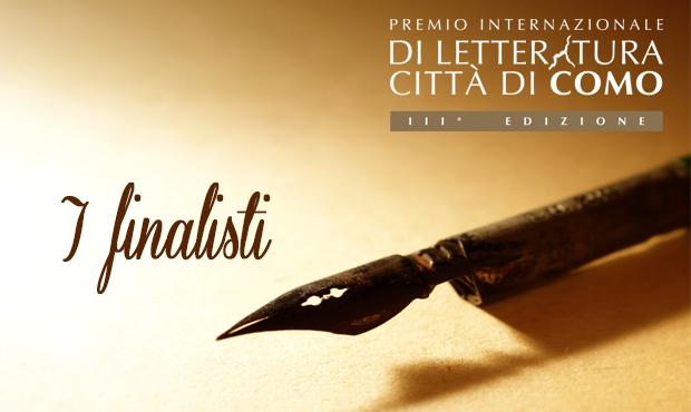 Finalisten van de derde editie van de International City LITERATUURHUIS' COMO