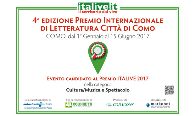 Prize City of Como candidate Italive Award 2017