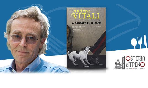 Cena d'Autore con Andrea Vitali il 19 aprile a Milano
