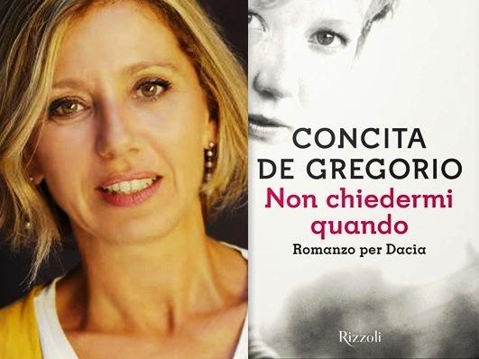 Dacia Maraini no novo livro Conchita De Gregorio
