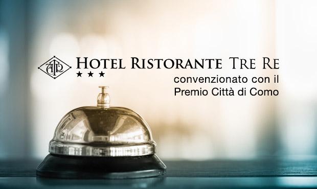 Hotel Tre Re parceria com o Prémio Internacional de Literatura da cidade de Como
