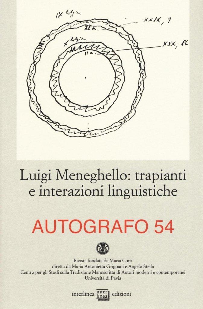 """Un numero della rivista """"Autografo"""""""