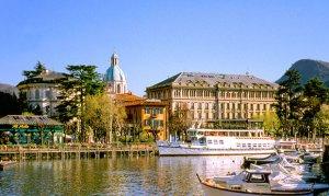 дворец отель озеро Комо