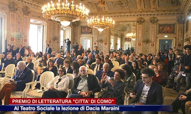 Vídeo da cerimônia de encerramento da Cidade de Prize Como.