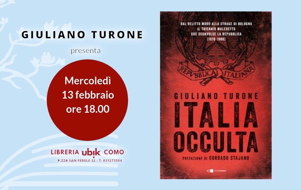Презентация Встреча ИТАЛИЯ Оккультная Giuliano Turone 13 Февраль, Ubik Como