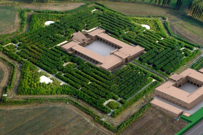 In bibliofiele Labyrinth van Franco Maria Ricci