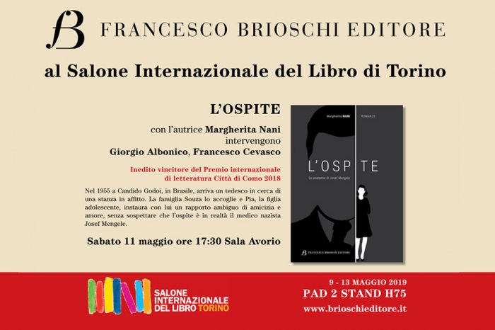 City of Como Saturday Prize 11 May 2019 at the Turin Book Fair