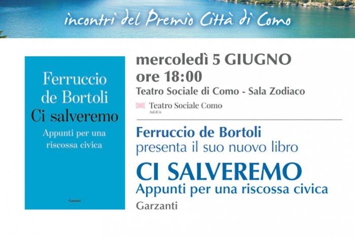 Ferruccio de Bortoli a Como il 5 giugno presenta il nuovo libro