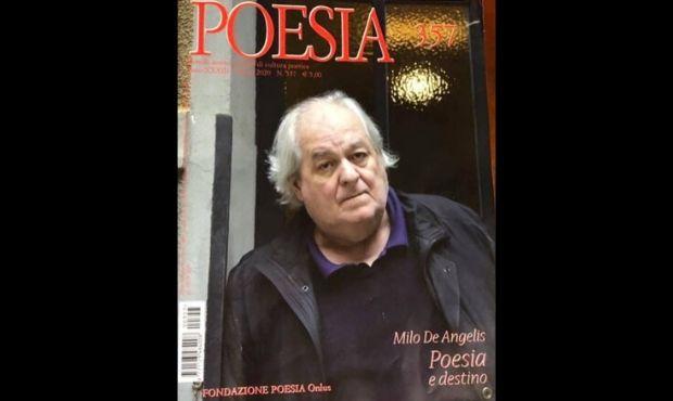 """Sulla rivista """"Poesia"""" numero speciale dedicato a Milo De Angelis"""