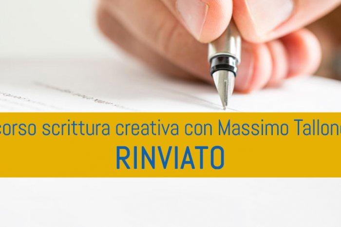 UITGESTELD Cursus Creatief Schrijven en Boek Therapie met Massimo Heel