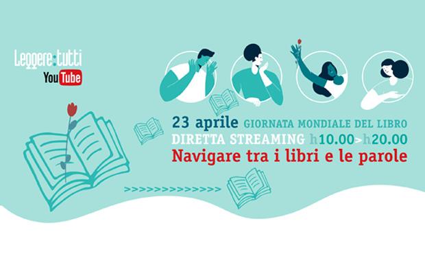 """Diretta Streaming """"Navigare tra i libri e le Parole"""" com leitura:tudo - 23 Abril 2020"""