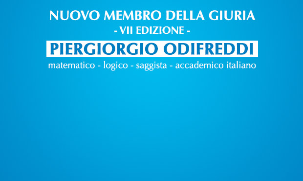 Piergiorgio Odifreddi new member of the Jury of the City of Como Award