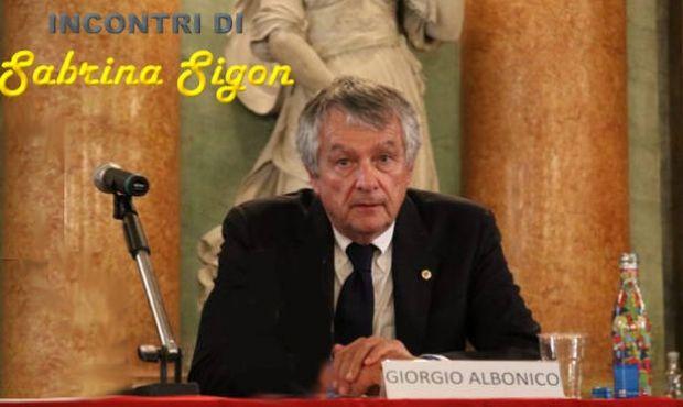 REUNIONES: Giorgio Albonico y su viaje literario.
