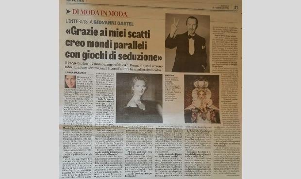 L'intervista a Giovanni Gastel