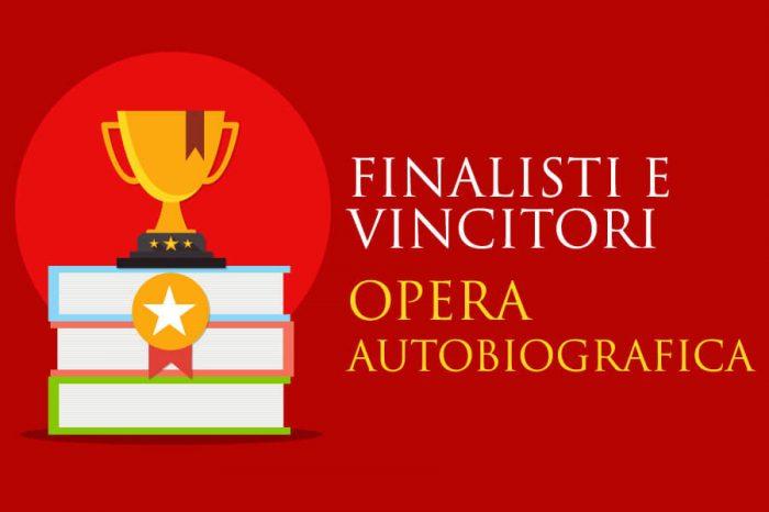 Opera Autobiografica - Finalisti e Vincitori