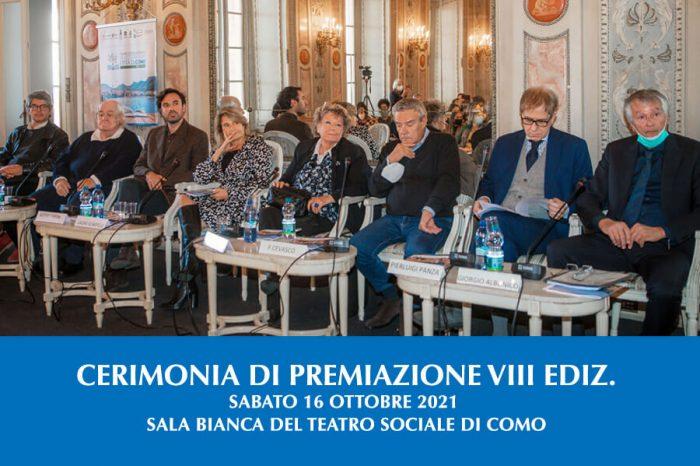 Cerimonia di Premiazione della VIII ediz. Premio Città di Como